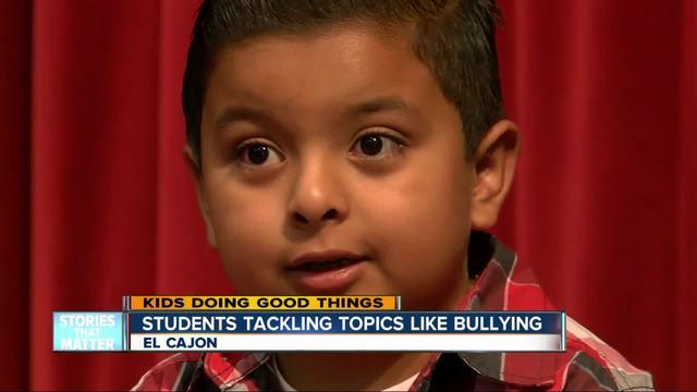Kids Doing Good Things - Students tackling topics like bullying
