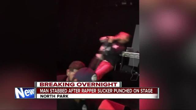 Man Stabbed After Rapper Sucker Punched On Stage At San