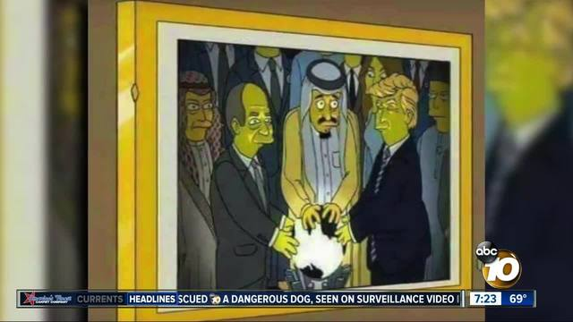 fact or fiction 2002 simpsons episode predicted trump orb encounter