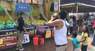 San Diego County Fair: Midway games