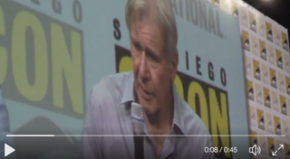Video: Harrison Ford stares down Chris Harwick