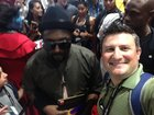 Black Eyed Peas star visits Comic-Con