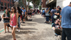 Long lines for fan experiences outside Comic-Con