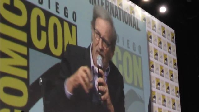 Steven Spielberg promotes movie at San Diego Comic-Con