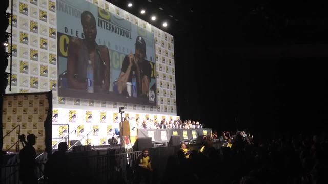 Jeffrey Dean Morgan of AMC-s Walking Dead appears at San Diego Comic-Con