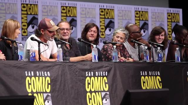 Andrew Lincoln of AMC-s Walking Dead appears at San Diego Comic-Con