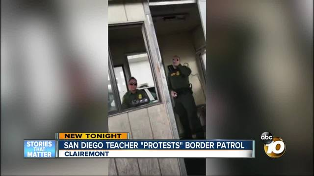 Woman records confrontation after refusing to answer immigration questions