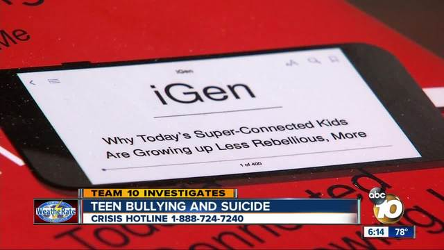 teen suicide and bullying
