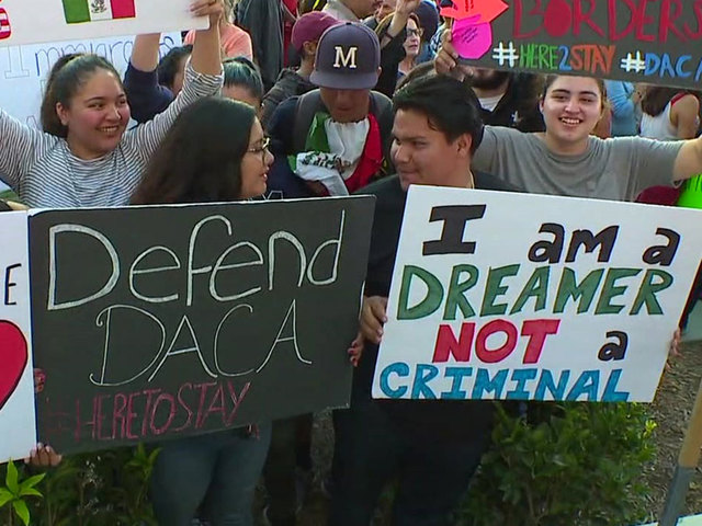Ignore the president. Vote on the DACA deal