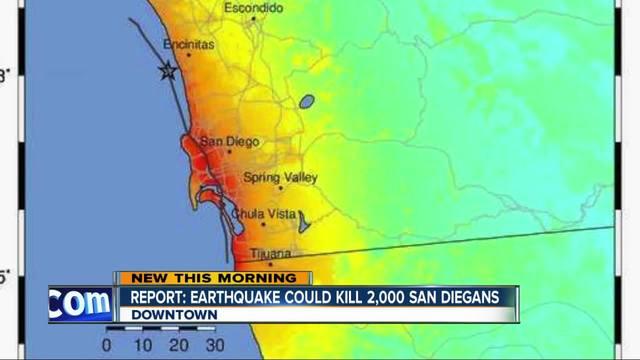 A Enam Sembilan Magnitude Earthquake Along Sangos Rose Canyon Fault Could Kill Thousands And Cost Billions