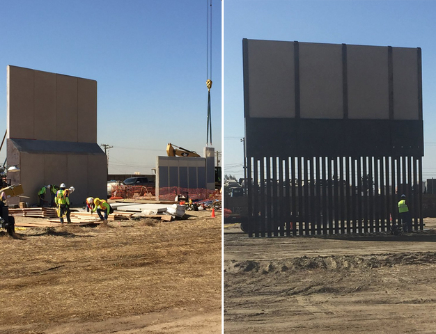 Border Wall Prototypes Near The Testing Phase