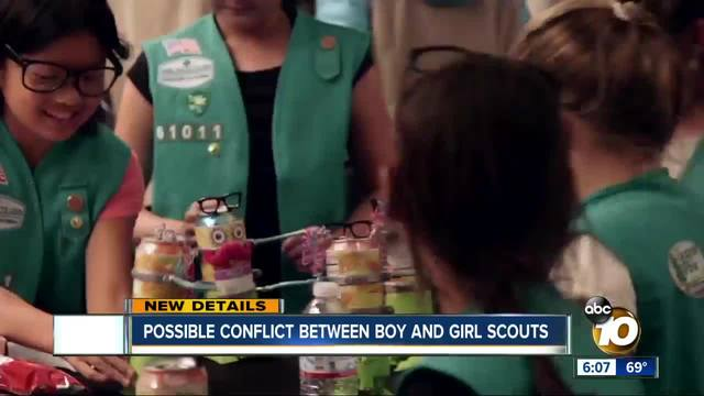 possible conflict between boy and girl scouts   10news