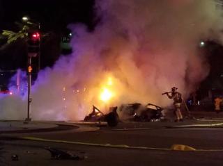Lamborghini driver killed in crash