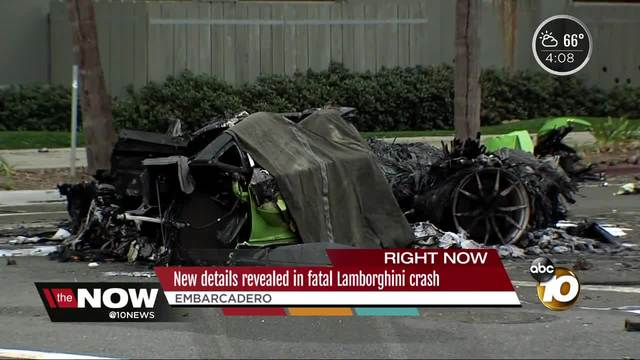 New Details Revealed In Fatal Lamborghini Crash 10news
