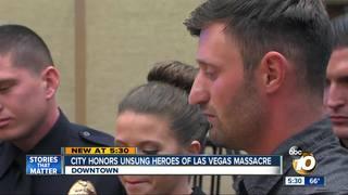 City honors heroes of Las Vegas massacre