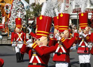 Holidays hit Disneyland, California Adventure