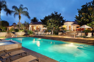 Koi ponds, waterfalls at Rancho Santa Fe home