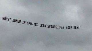 NFL 'freaked out' over planes above Bolts games