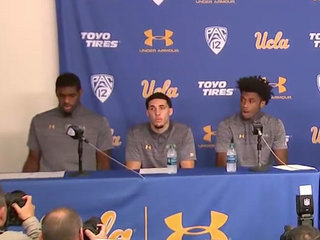 UCLA players apologize for arrest, thank Trump