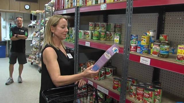 Former food pantry client pays it forward