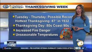 Angelica's Forecast: Warmer This Week