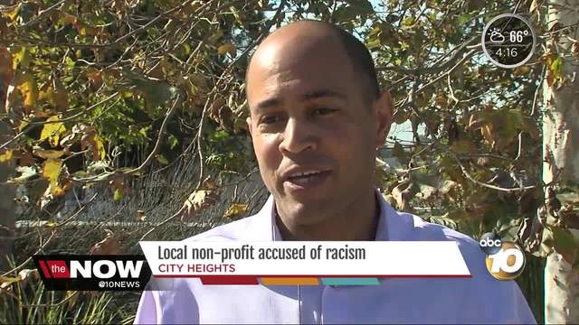 San Diego non-profit accused of racism