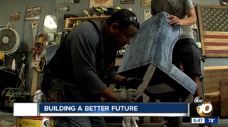 Woodworking gives second life to man in recovery