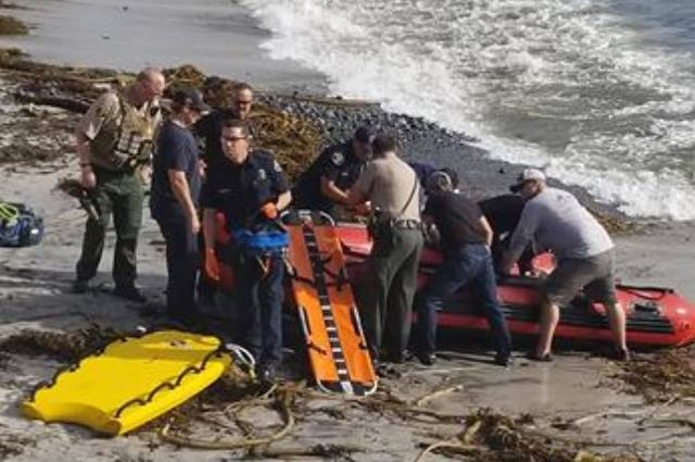 Shark Attacks Fisherman at Pebble Beach