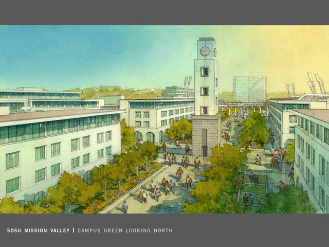 San Diego State University Reveals Campus Expansion On