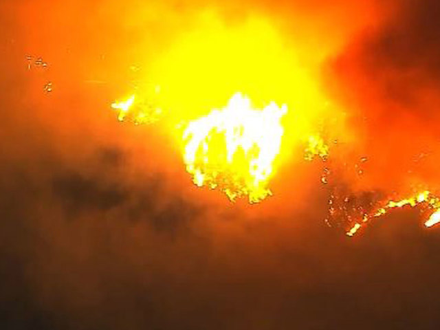 Creek Fire Burns 2500 Acres in Sylmar Area; Evacuation Orders in Place