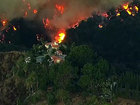 Skirball Fire sparked by 'illegal cooking fire'