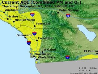 San Diego air quality report