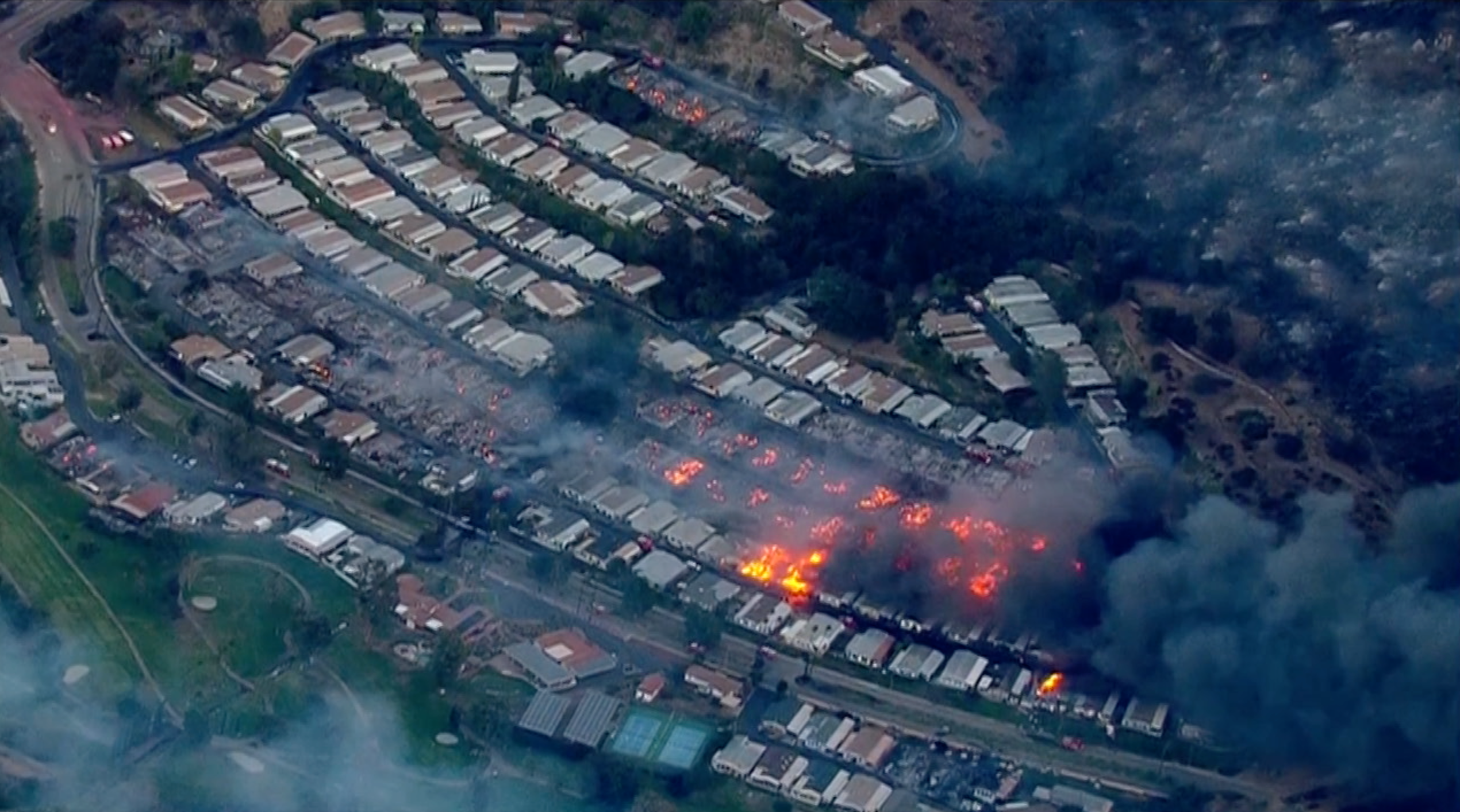 Photos Showing Before And After Lilac Fire Destroyed San Diego