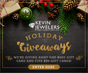 Enter to win gift cards to Kevin Jewelers!