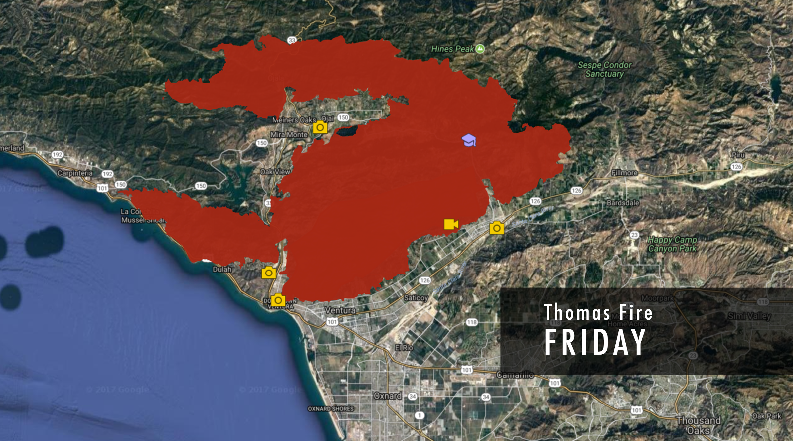 Wildfires Burning In Ventura Los Angeles Counties What We Know