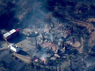 Lilac Fire Update Cal Fire >> Lilac Fire engulfs homes, burns thousands of acres in San Diego - 10News.com KGTV-TV San Diego