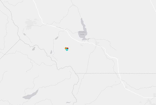 Preliminary magnitude 4.1 natural disaster strikes near Mammoth Lakes