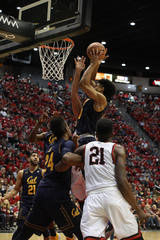 SDSU defeated by Cal, 63-62, after late game...