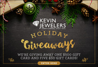 Holidays Giveaways: Win $500 to Kevin Jewelers