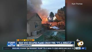 Family left just before plane crashed into home