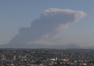 Smoke from TJ fire seen throughout San Diego