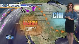 Megan's Forecast: Warm, Dry and Breezy