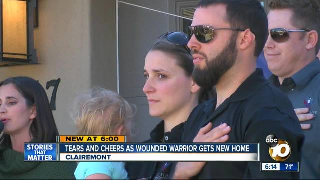 Local vet receives specially-adapted smart home