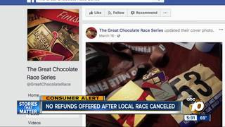 'Great Chocolate Race' canceled in San Diego