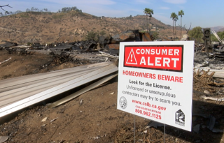 Lilac Fire victims at risk of getting scammed
