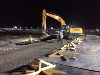 SD airport's only runway getting repaved nightly