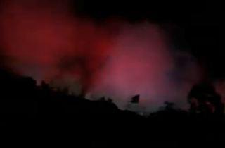 Junkyard fire sparks in Otay Mesa