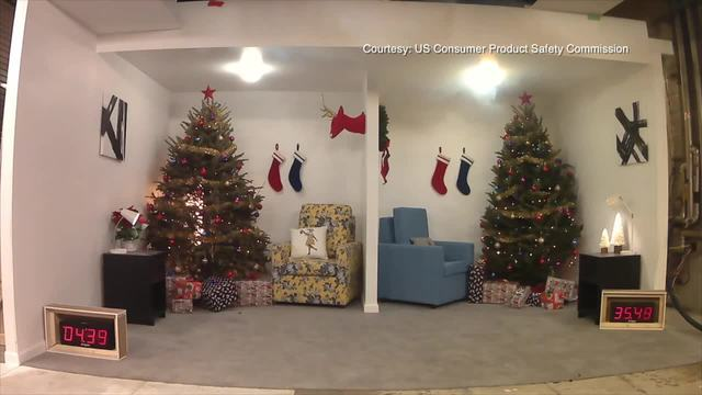 christmas trees and decorations are a fire hazard - Christmas Decorations San Diego