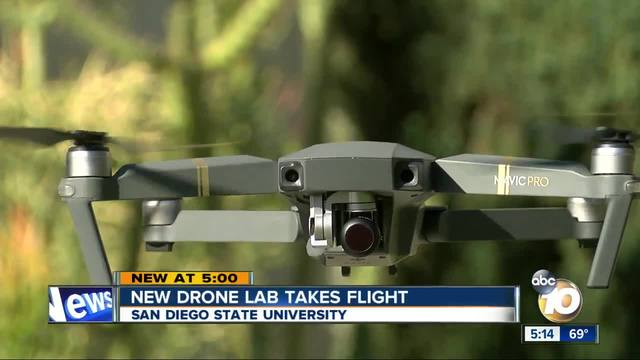 New drone lab takes flight at San Diego State University