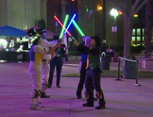 San Diegans celebrate The Last Jedi premiere